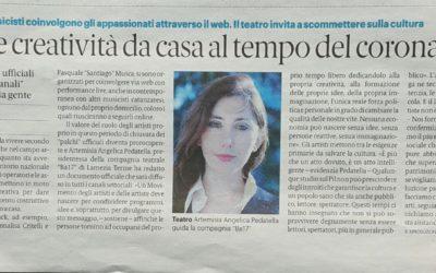 Gazzetta del Sud 16-03-2020